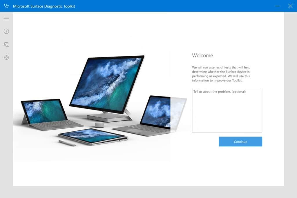 Problemer med din surface – kjør Microsofts Surface Diagnostic Toolkit