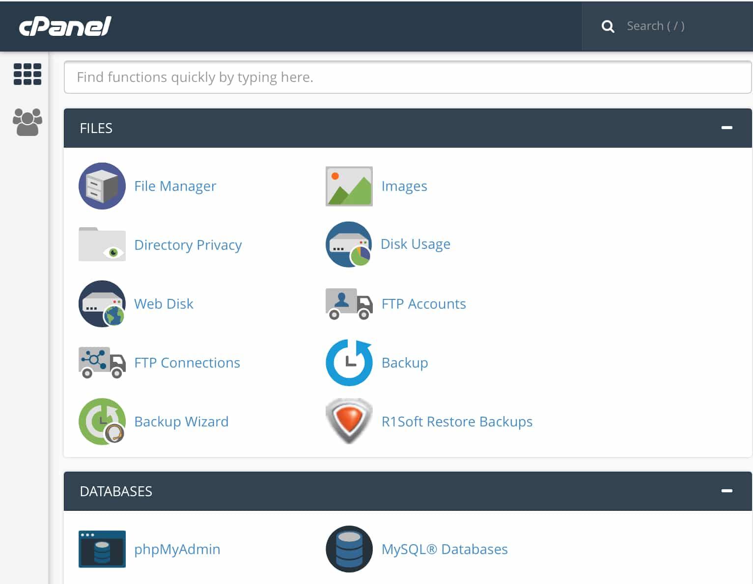 Sette PHP versjon for webhotell i cPanel
