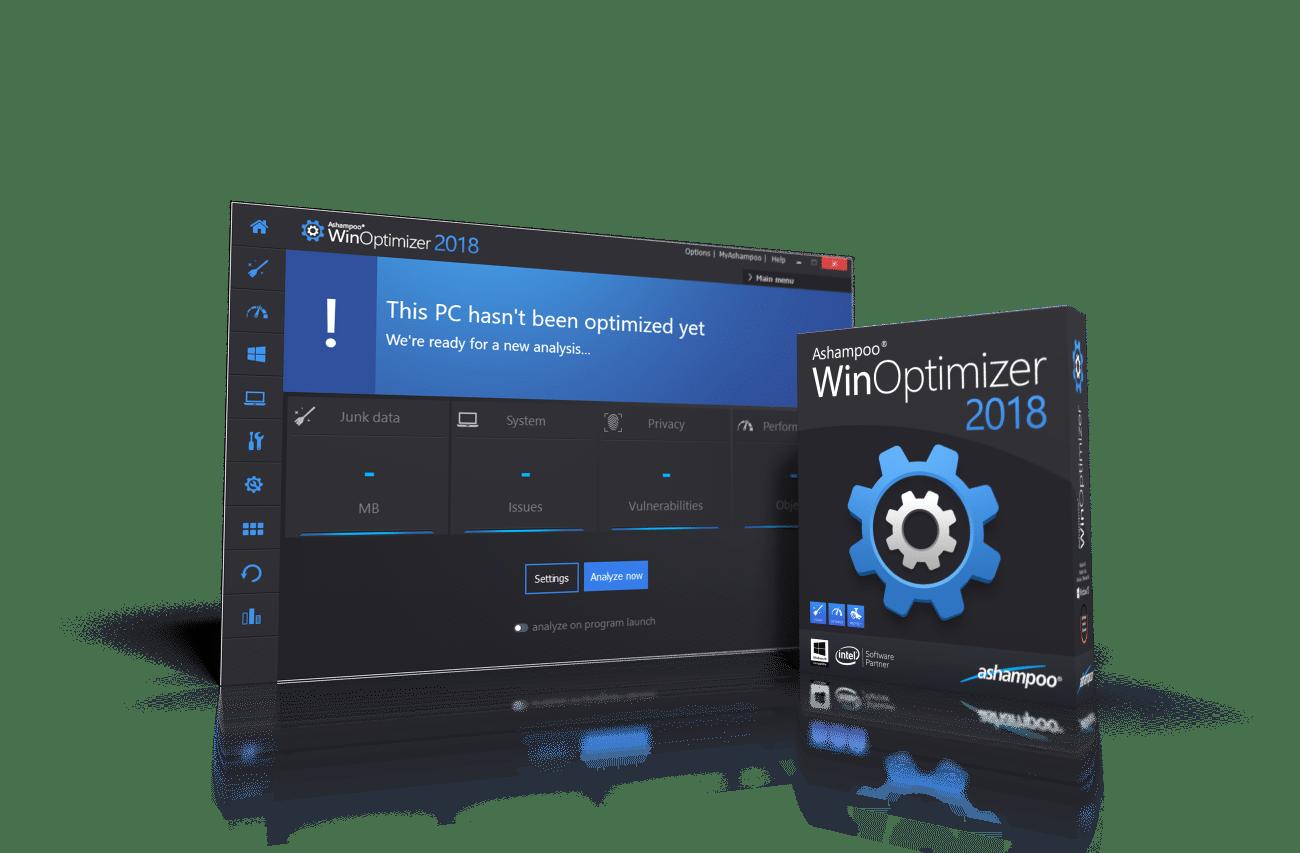Ashampoo WinOptimizer 2018 – Kraftig systemoptimalisering