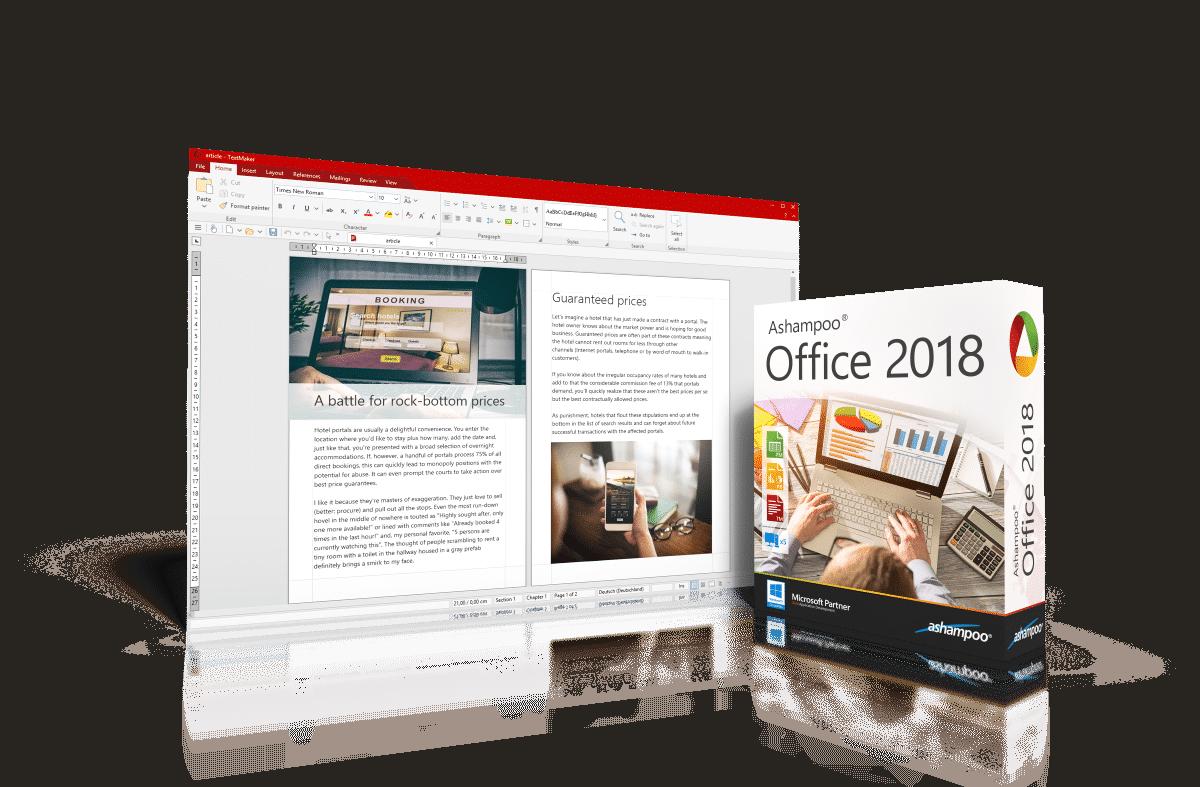 Ashampoo Office 2018 – den rimelige, omfattende og profesjonelle Office-pakken!